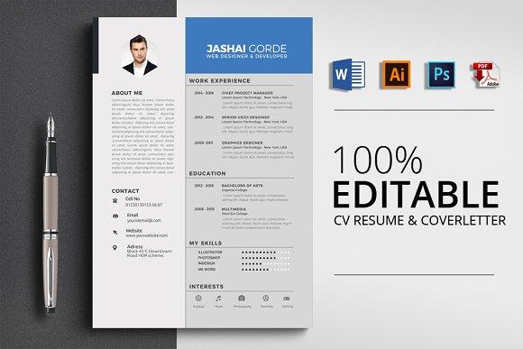 Corporate Word CV Resume