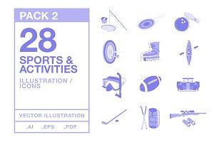 Sports & Activities Illustration #2