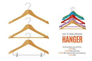 Clothes Hanger Set