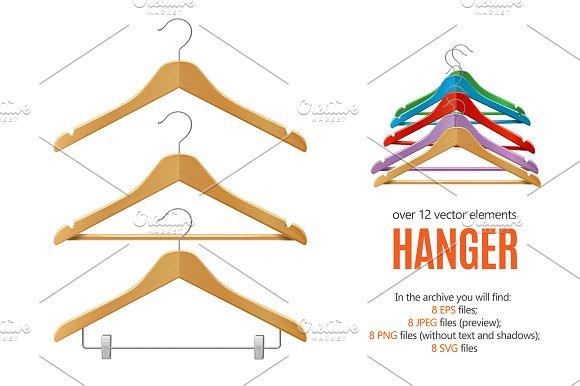 Clothes Hanger Set