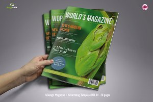 InDesign Magazine 28 Pages
