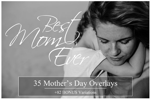 35 Mother's Day Quote Overlays