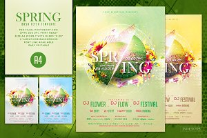 Spring Bash Flyer Template