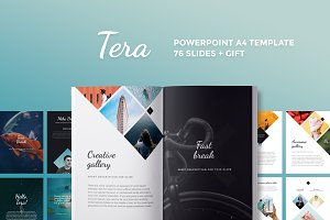 A4 | Tera PowerPoint Template