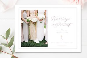 Wedding Photo Flyer Design