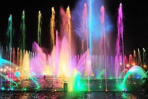 Fountain Show. Rizal park