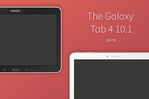Galaxy Tab 4 10.1 Vector Pack