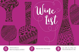 Wine list collection