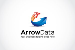 Arrow Data Logo Template