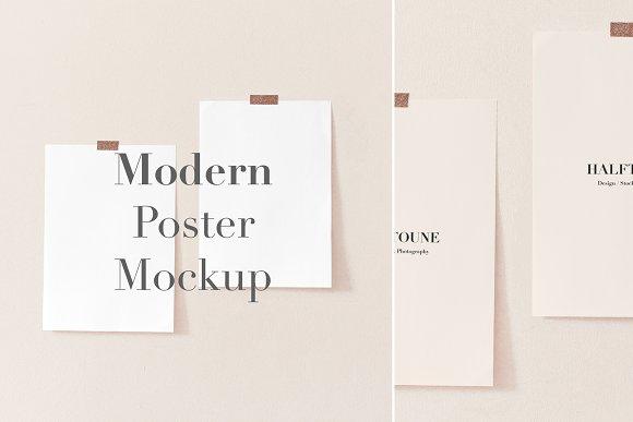 Mockup A3 A4 Paper Mock Up