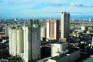 View on Makati city, Philippines