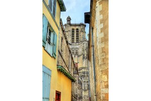 Saint Peter and Saint Paul Cathedral of Troyes in France