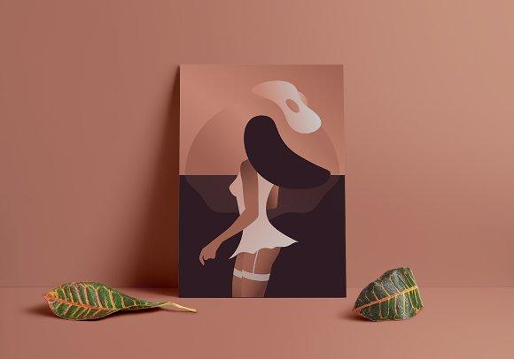 Danish Spring Print 50x70cm