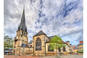 Saint Remy Church of Troyes in France
