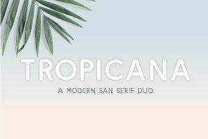 Tropicana | San Serif Duo