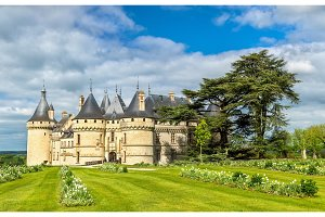 Chateau de Chaumont-sur-Loire, a castle in the Loire Valley of France