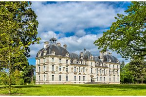 Chateau de Cheverny, one of the Loire Valley castles in France