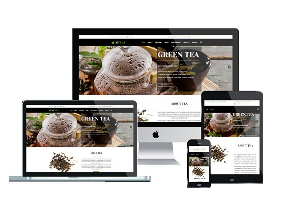 AT Tea Tea Website Template