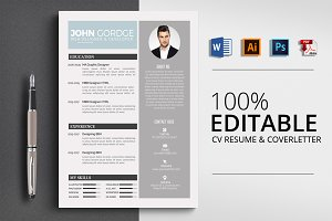 Microsoft Word Resume CV