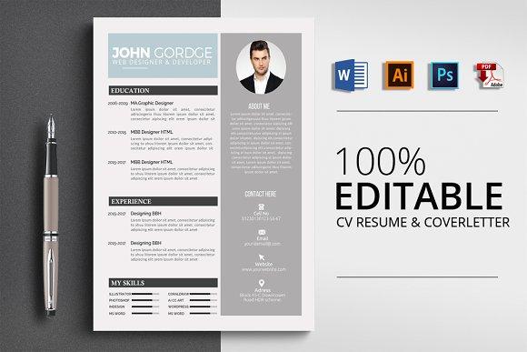 Microsoft Word Resume CV