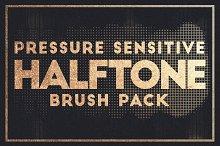 Pressure Sensitive Halftone Brushes
