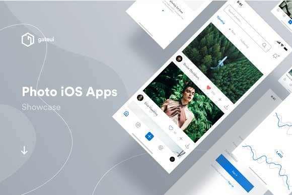 Photo IOS UI Kit