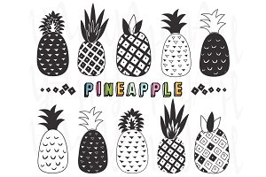 Doodles Pineapple Collection