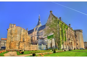 Town Hall of Angouleme, an ancient castle - France