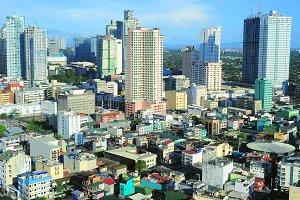 Makati city view, Philippines