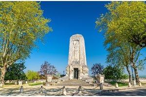 World War I memorial in Angouleme, France