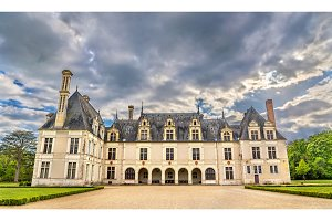 Chateau de Beauregard, one of the Loire Valley castles in France
