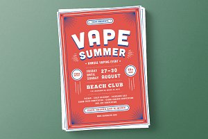 Vape Summer Flyer