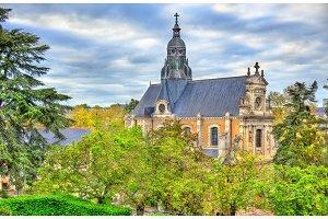 Saint Vincent de Paul church in Blois - France