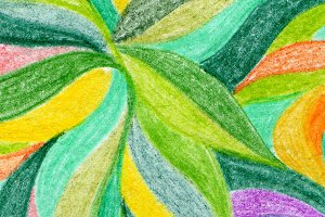 Abstract color pencil background