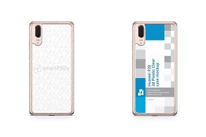Huawei P20 2d PC ClearCase Mockup