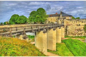Chateau de Saumur in the Loire Valley, France