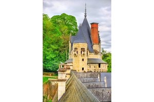 Castle of Usse in the Loire Valley, France
