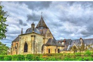 Saint Symphorien Church at Azay-le-Rideau in the Loire Valley, France