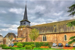 Saint Pierre Church in Champtoce-sur-Loire, France
