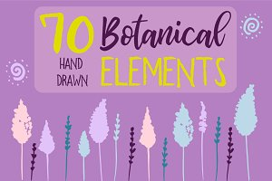 50% OFF 70 Hand Drawn Elements