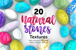 20 Natural Stones textures