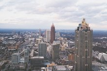 Atlanta Skyline from Above