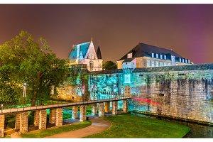 Chateau des ducs de Bretagne in Nantes, France