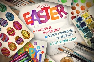 Easter Watercolor Pack ✿