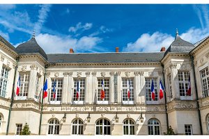 The city hall of Nantes, France