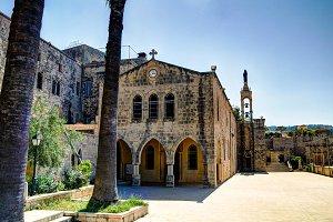 Saydet Al Talle Church at Deir al Qamar, Lebanon