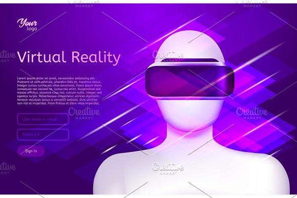 Man In Virtual Reality Headset