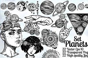 Planets Set.