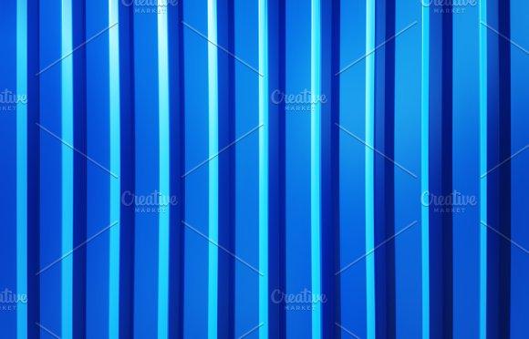 Vertical Blue Panels Illustration Background
