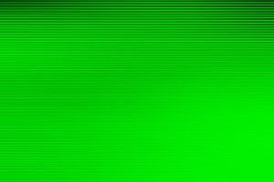 Green scanlines display background